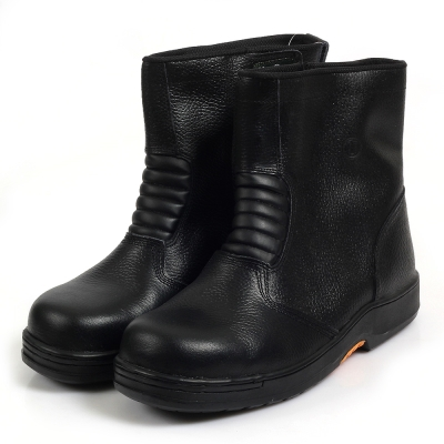 Kai Shin 專業鋼頭安全工作鞋 黑色