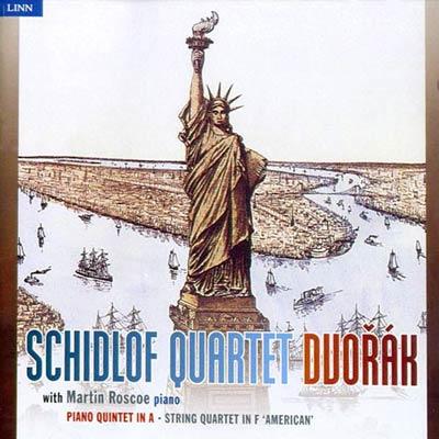 許洛夫四重奏 - 德弗乍克的美國CD