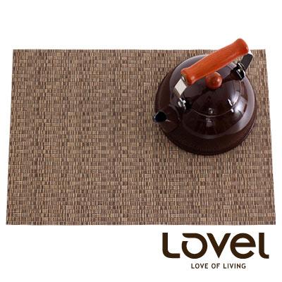 LOVEL-歐美風手作編織感餐墊-奶茶棕-1入組