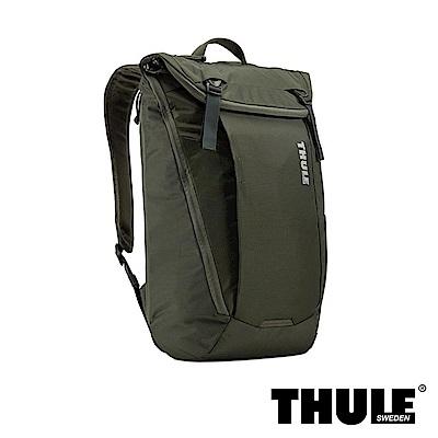Thule EnRoute 20L 電腦後背包(軍綠/15 吋內筆電適用)