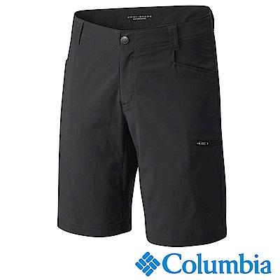 Columbia 哥倫比亞 男款- 防曬50防潑短褲-黑色 UAE15700BK