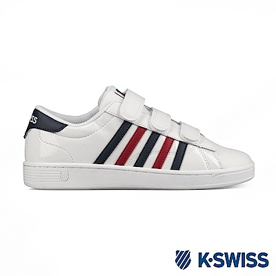 K-swiss Hoke III Strap CMF休閒運動鞋-女-白/藍/紅