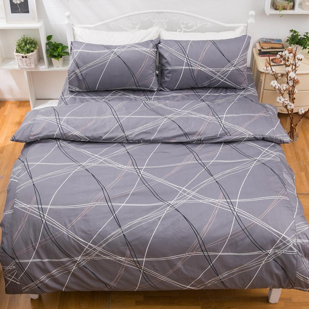 kokomos扣扣馬 鎮瀾宮大甲媽授權精梳棉205織紗雙人床包被套四件組 時尚空間