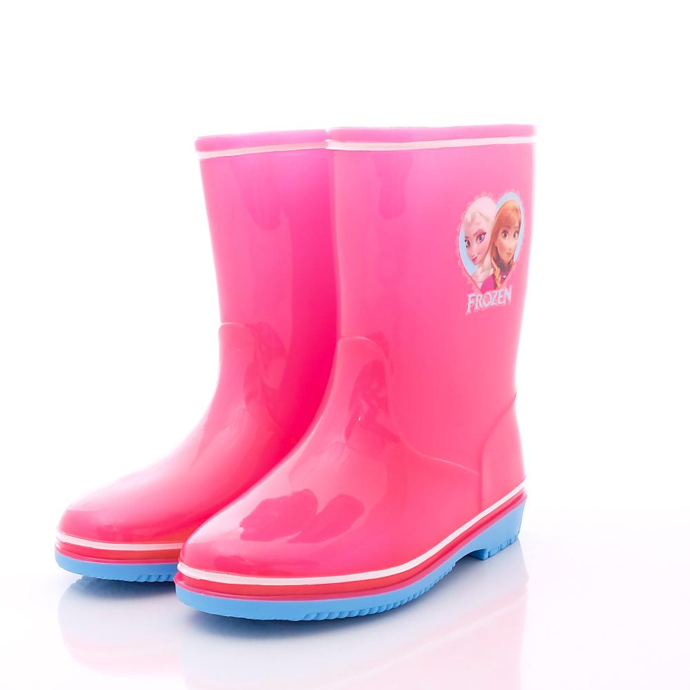 迪士尼童鞋-冰雪奇緣雨鞋款-KL54993粉(中小童段)HN