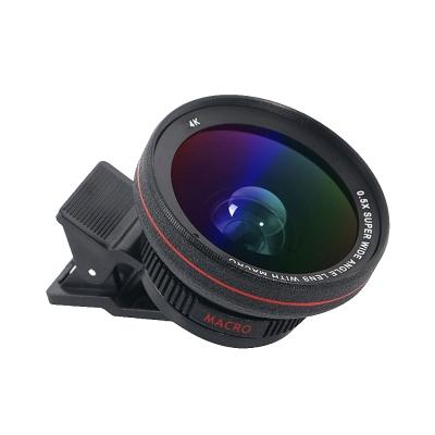 Unii PRO級0.5X超廣角/15X微距光學鏡片 專業自拍鏡頭(盒裝)