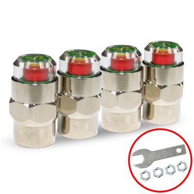 Kipoint-胎壓偵測氣嘴蓋-4顆入