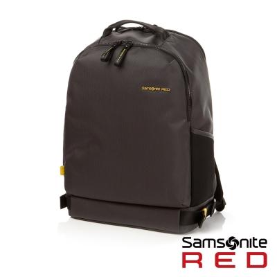 Samsonite RED CLOVEL 造型潮流中性休閒筆電後背包-15.6吋(深灰)