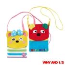 WHY AND 1/2 普普熊萬用袋-背帶可拆 多色可選