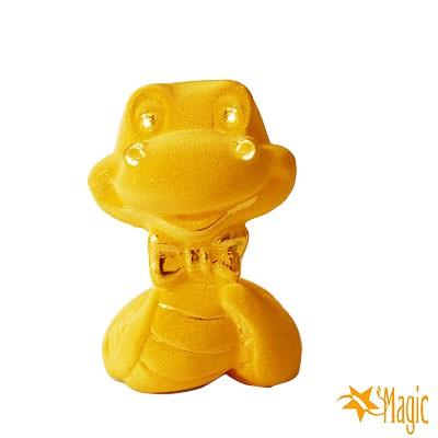 Magic魔法金-可愛領結蛇立體黃金(約0.2錢)