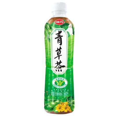 味丹 青草茶(600mlx24入)