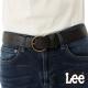 Lee 皮帶 銅色圓頭寬版 -女款(黑)