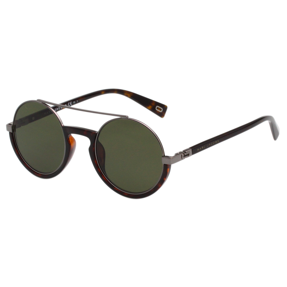 MARC JACOBS 復古圓框 太陽眼鏡-琥珀色-MARC217S