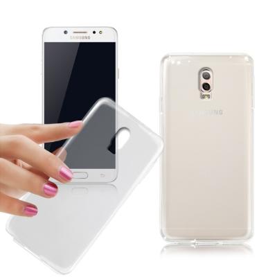 XM Samsung Galaxy J7+ 薄型清柔隱形保護套