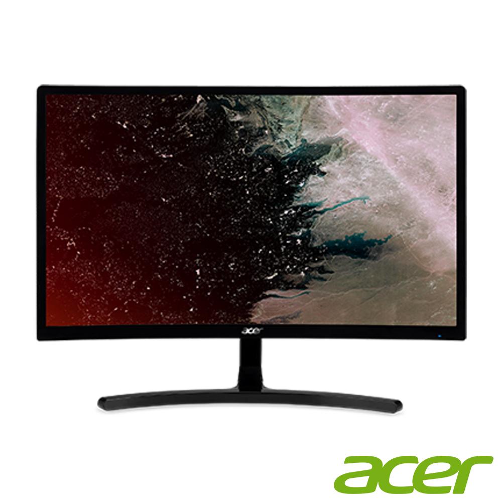 acer ED242QR A 24型 VA曲面薄邊框電腦螢幕