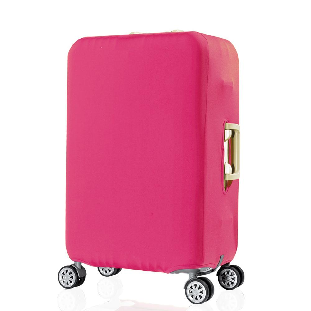 DF 生活趣館 - 行李箱保護套防塵套素色款S尺寸適用19-21吋-共2色 product image 1