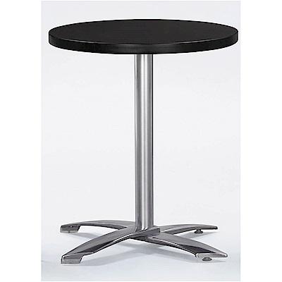H&D 胡桃色2尺圓桌 (寬60.6X深60.6X高75cm)