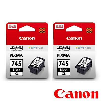 Canon PG-745XL 原廠高容量黑色墨水二入組合