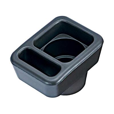 CARMATE 軟質置式飲料置物架(黑)NZ264