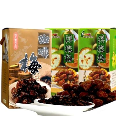 幸福流域  檸檬梅1200g+咖啡梅600g(3入)