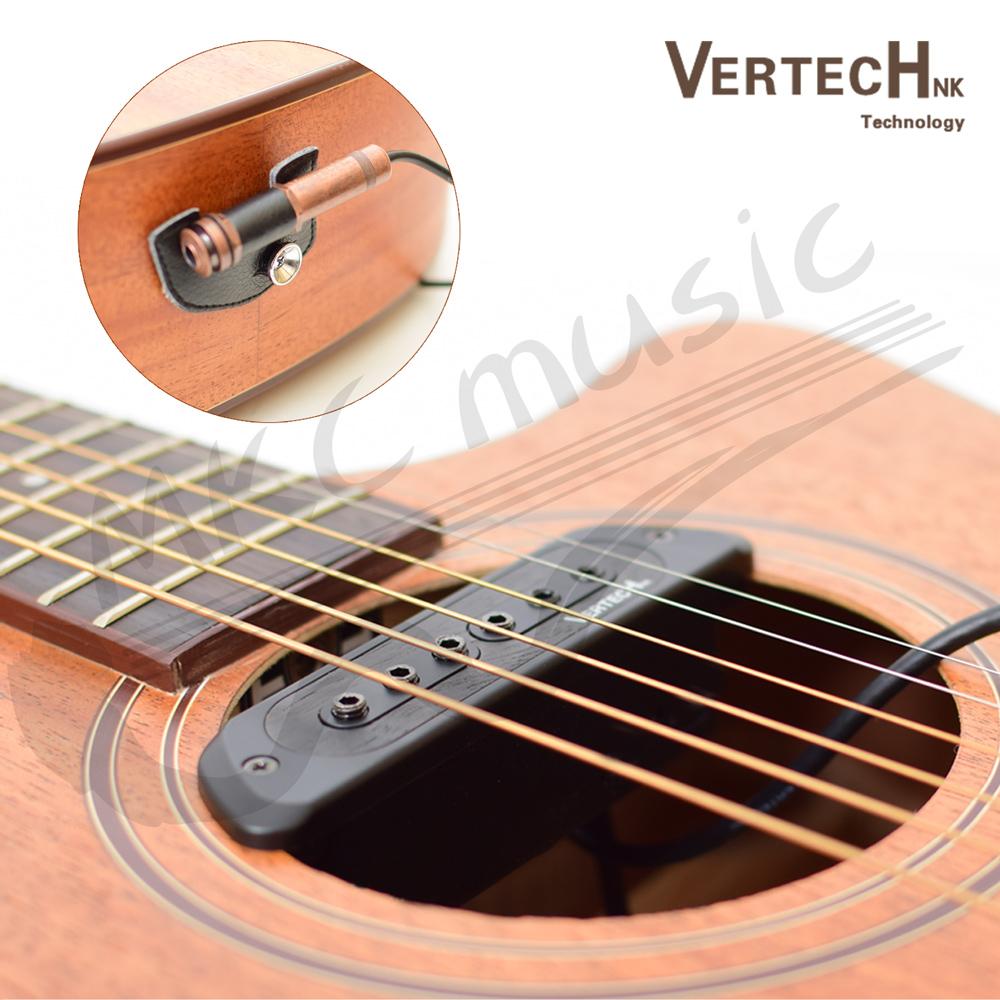 韓國 Vertech 雙被動線圈 可收打板音 免挖洞 專業拾音器(VS-9)