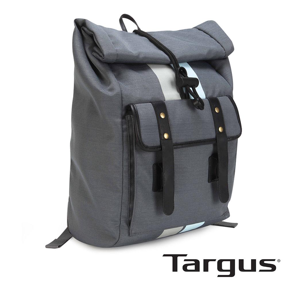 Targus Geo 復古休閒 15.6 吋上捲抽繩後背包