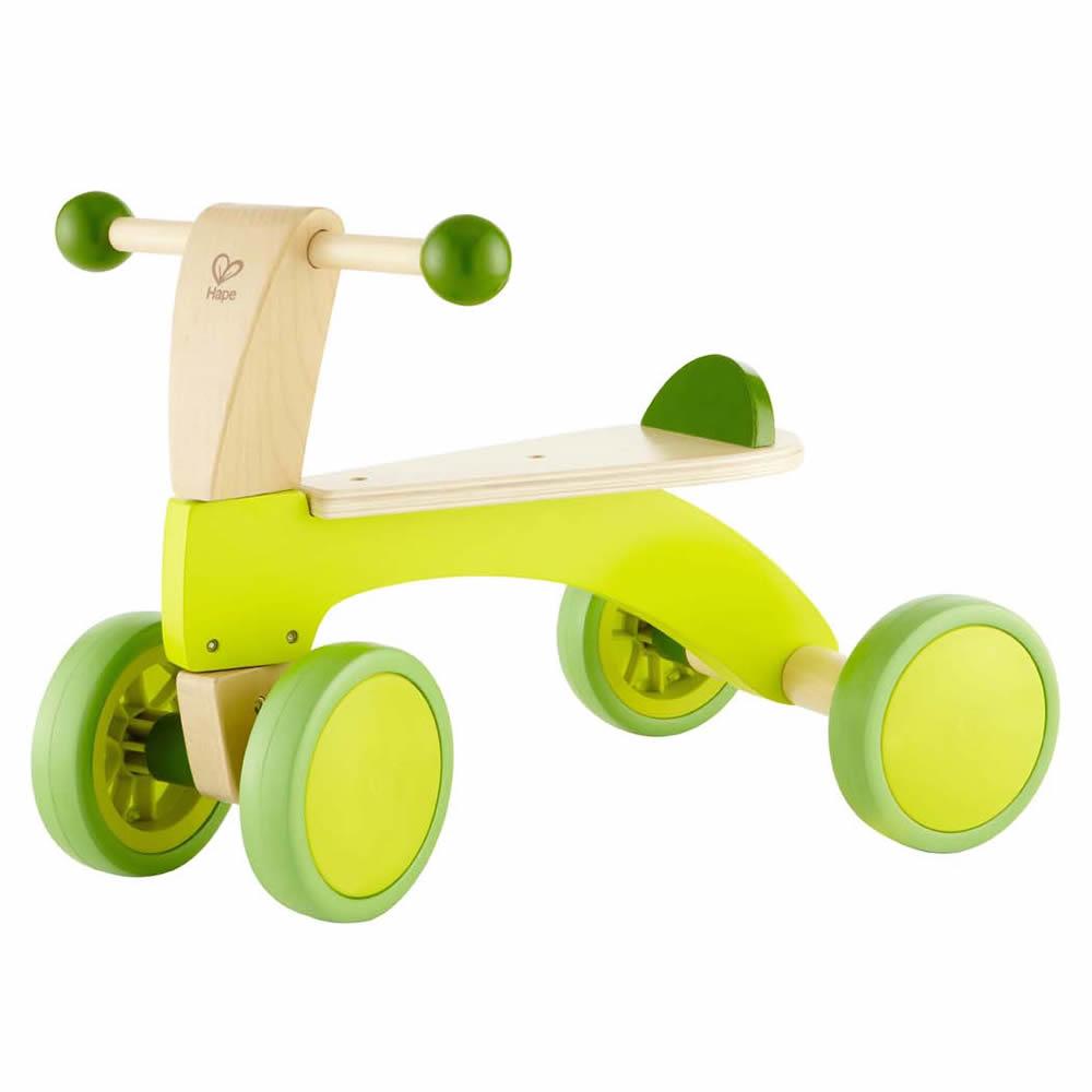 德國Hape愛傑卡 四輪轉轉玩具車