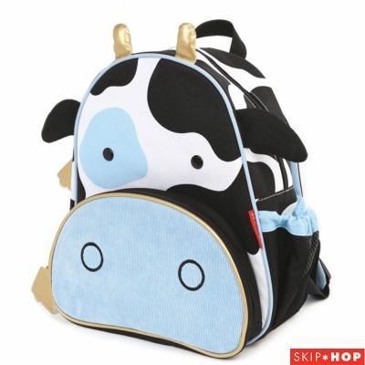 Skip Hop 乳牛款動物兒童背包