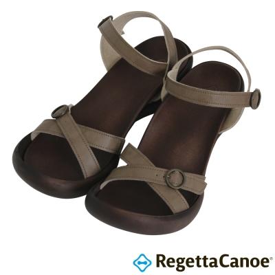 RegettaCanoe-CJFD-5504優雅樂步休閒鞋-淡褐色