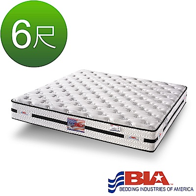 美國BIA名床-極致支持-獨立筒床墊-6尺加大雙人