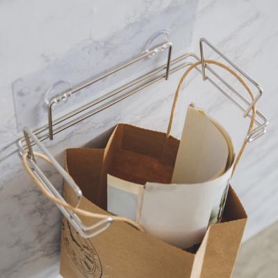 完美主義 304不鏽鋼垃圾袋/霧面無痕貼-23.3x12.7x15.7cm