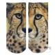 摩達客 美國進口Living Royal 獵豹臉 短襪腳踝襪彈性襪動物圖案襪 product thumbnail 1