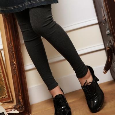 La Belleza時尚百搭多色彈性棉質九分內搭褲