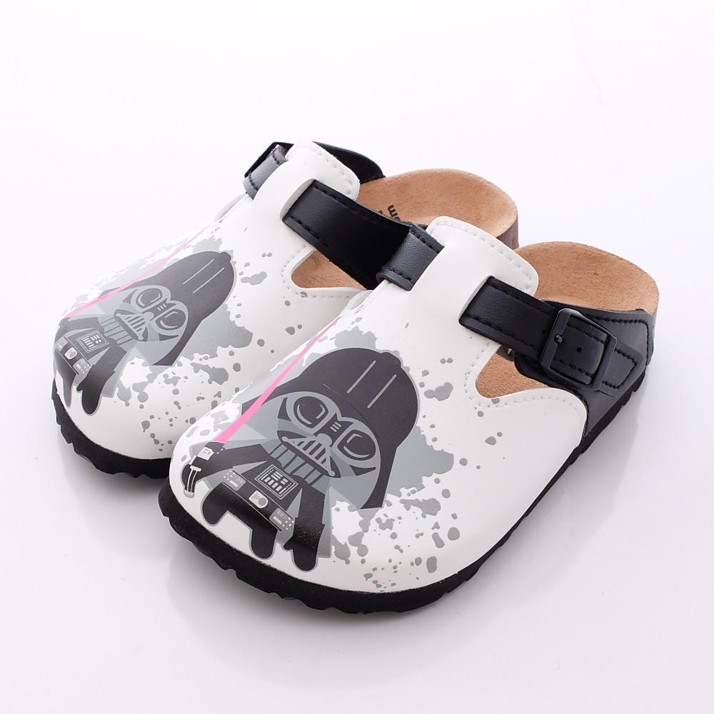 星際大戰-新創軟木涼鞋款-FI16506白(中小童段)HN