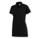 PUMA-女性法拉利經典系列小盾牌短袖Polo衫-暗月黑-歐規