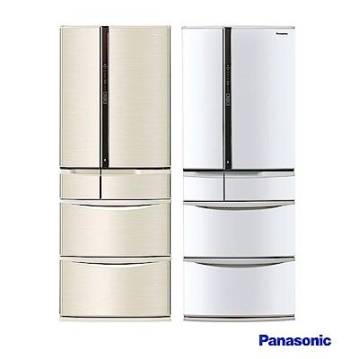 Panasonic 國際牌 501L日製六門 變頻電冰箱 NR-F502VT