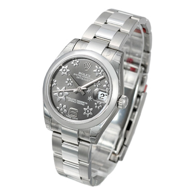 ROLEX 勞力士 Datejust 178240 蠔式恆動日誌型腕錶-銀色櫻花版/31mm