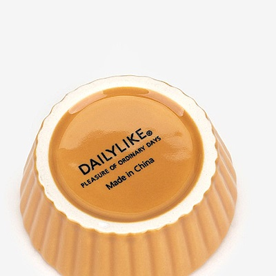 Dailylike 西點造型陶瓷點心盤-07 烤餅乾