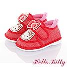 HelloKitty童鞋 輕量減壓寶寶學步嗶嗶鞋-紅