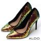 ALDO-璀璨霓光亮片摩登尖頭細高跟鞋-燦爛金屬色