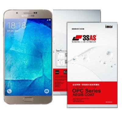 iMOS SAMSUNG GALAXY A8 3SAS 螢幕保護貼
