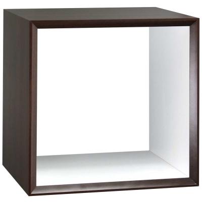 魔術方塊36系統收納櫃/鏤空櫃-胡桃色
