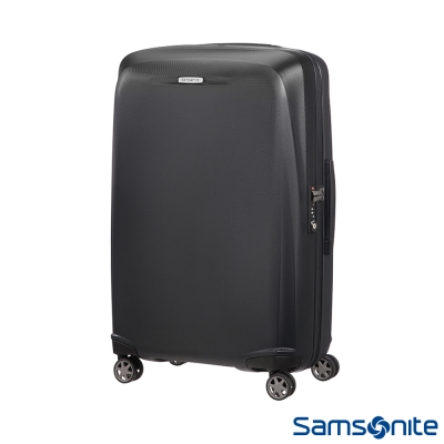 Samsonite新秀麗 25吋Starfire飛機輪TSA防刮耐磨PC行李箱(石墨黑)
