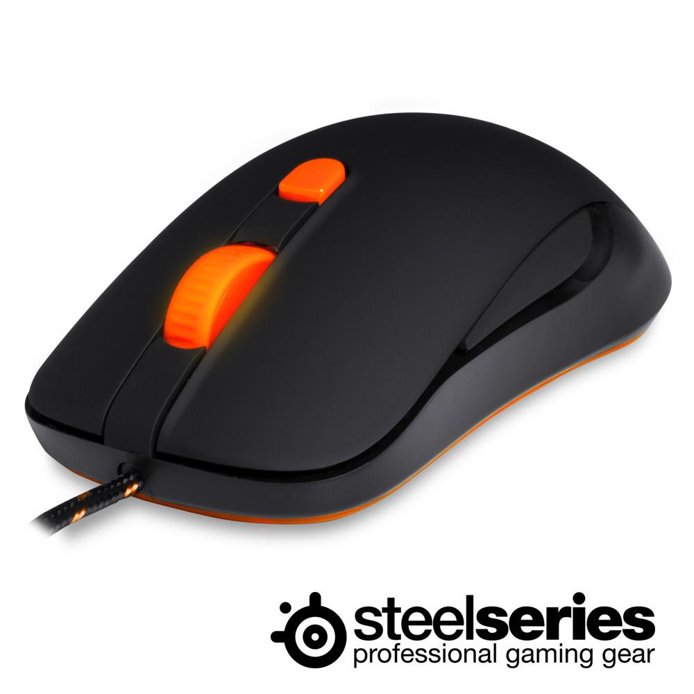 SteelSeries KANA 電競光學滑鼠(消光黑)