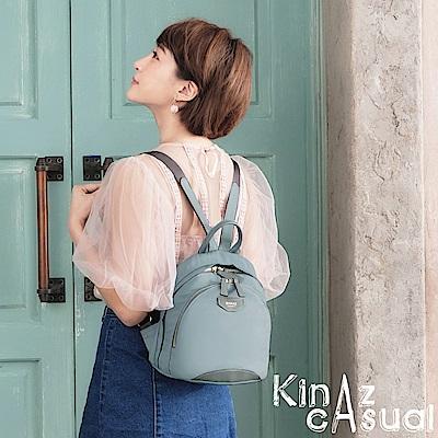 KINAZ casual  玩具村莊兩用後背包-晴空天藍-慕尼黑系列