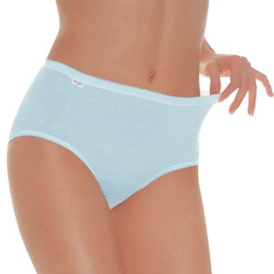 【sloggi】Comfort高腰小褲兩件包 (藍)