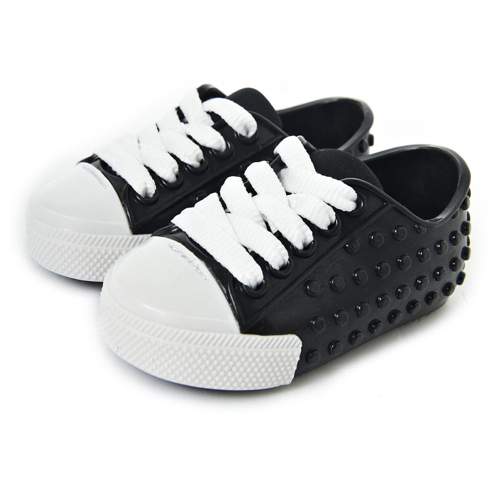 MINI MELISSA豆豆鞋-黑/白