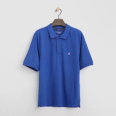 Hang-Ten-男裝-基本多彩POLO-藍色