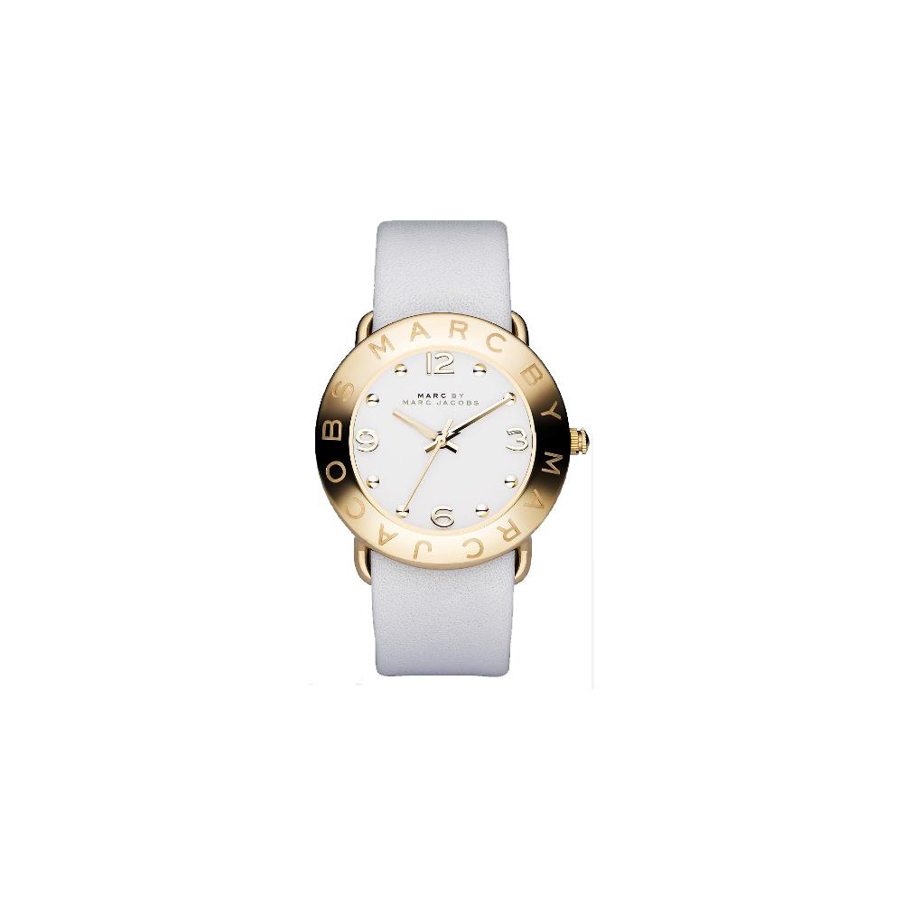 Marc Jacobs 色彩潮流時尚腕錶-金/36mm