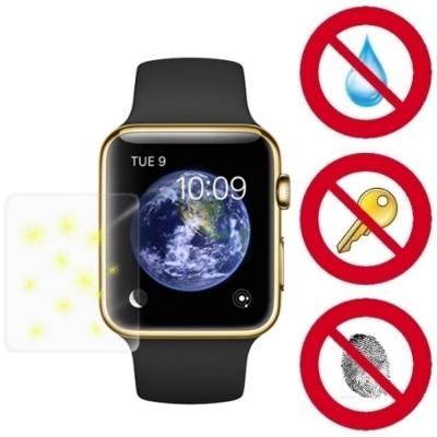 D&A Apple Watch (42mm)日本NEW AS玻璃奈米5H 螢幕保護貼-2入