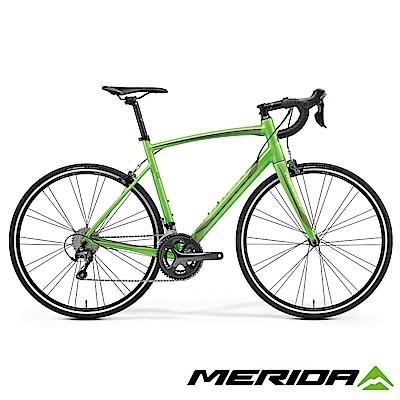 (無卡分期-12期)《MERIDA》美利達 舒適型跑車 萊得 Ride 300 熒光綠